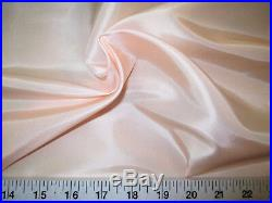 Discount Fabric Two Tone Iridescent Apparel Taffeta Pale Pink Taf03