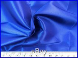 Discount Fabric Two Tone Iridescent Apparel Taffeta Royal Blue Taf07