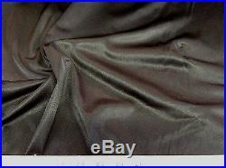 Discount Fabric nylon Tricot stretch Black 54 wide Free ship