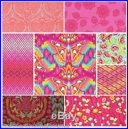 EDEN by Tula pink, 1/2 YARD BUNDLE X 25 prints + FREE SHIPPING