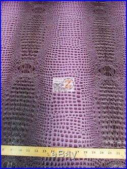 FLORIDA GATOR 3D EMBOSSED VINYL FABRIC 1-5-10-20-30 UPHOLSTERY/2 TONE/DuroLast