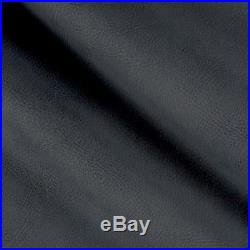 Fabric Richloom Tough Faux Leather Pleather Vinyl Tiona Navy Charcoal PP11