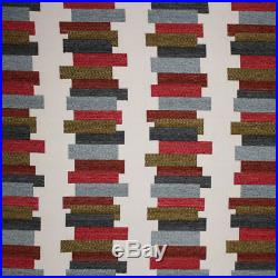 Fabric Richloom Upholstery Drapery Anchetta Vintage Chenille Yarn Dye GG10