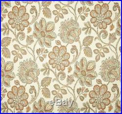 Fabric Richloom Upholstery Drapery Sylvan Arizona Floral Jacquard Yarn Dye 40EE