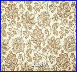 Fabric Richloom Upholstery Drapery Sylvan Arizona Floral Jacquard Yarn Dye EE40