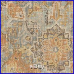 Fabric Upholstery Drapery Waverly Pradesh Palace Monsoon Sateen Tribal GG35