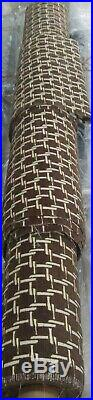 Fabricut Philotes Chocolate Fabric 2 Rolls 10+ Yards Sbi Flame & Stain Treatment