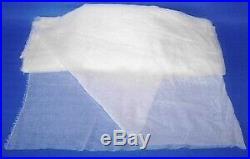 Full bolt Cotton Gauze Fabrics 44white$90 /50 yards