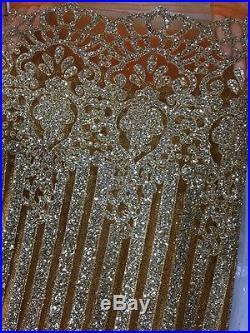 Gorgeous Sparkle Glitter Soft Tulle Bridal Dress Mesh Lace