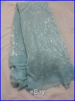 Gorgeous Sparkle Sequince Soft Tulle Bridal Lace Fabric 5yds Lot