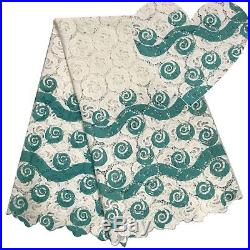 High Quality Cotton Lace Fabric French Lace Latest African Cord Laces Guipure