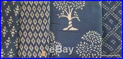 Indian 40 Yard Mix Lot Fabric Wholesale Price Hand Block Print Fabric Dress Suit