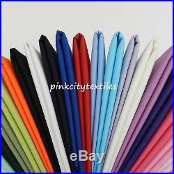 Indian Solid Plain Coloured / colour 100% Cotton Fabric Cotton lot of colors