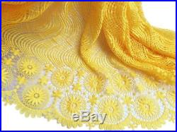 KENLACE 5 Yards/Lot African Lace Fabric Swiss Voile Emboridery French Mesh