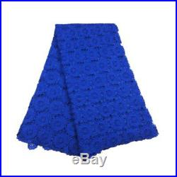 KENLACE 5 Yards/Lot Latest African guipure lace fabric for sewing. Best selling