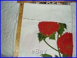 LOT OF 2 TRUE VTG 5 yards Barkcloth Tiki Fabric 60s/70s HAWAII SHAHEEN (bx4)