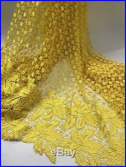 Latest African Dresses For Women Cord Lace Fabric Guipure French Lace Dentelle