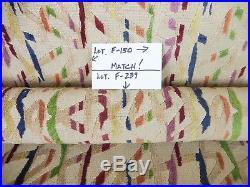 Lee Jofa GroundWorks Watusi Velvet Jewel Epingle Fabric. 4+Yards. Lot F150