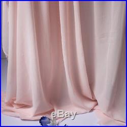 Light pink Chiffon fabric sheer, bridal wedding, lining fabric, 5 yards per lot