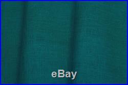 Lot 15 yard Wide Linen Fabric Width 102 Green 100% Pure Flax Cloth light weight