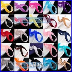 Lot Wholesale Embroidered Lace Trim Wedding Ribbon Applique Sewing Craft Fabric