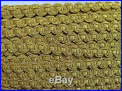 Lot of 185+ yards Decorative Gimp GOLDS 1/2 1 Drapery Fabric Upholstery L83