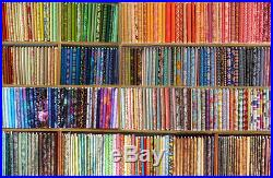 Lot of 7 yards of Quilt Fabric No Duplicates 100% Cotton