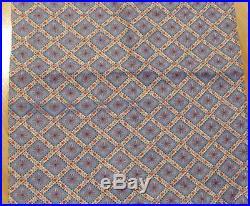 MEGA LOT c 1930/40s Lattice Motif FABRIC 9 + Yards RWB seen in feedsack
