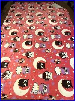 Minky fabric lot, minky dot true timber camo pirates owls paisley 18 + yards