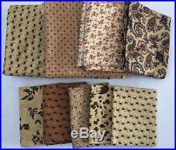 Moda Fabric Lot, 8.77 Yards, Tamarack Grove, Kansas Troubles, Vienna Nights, New