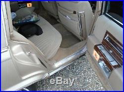 NOS GM fabric 1990-92 Cadillac Brougham Detroit 8710 Antelope color 35 yard lot