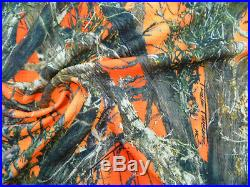 Printed Bullet Liverpool Textured True Timber Orange Blaze MC2 Camo Fabric U10