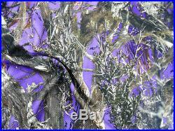 Printed Bullet Liverpool Textured True Timber Purple Green MC2 Camo Fabric U14