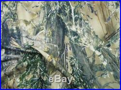 Printed Liverpool Textured True Timber MC2 Green Camouflage Fabric H205