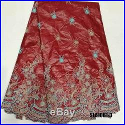 Rich Bazin Floral Lace Fabric 5yds Lot Width 52
