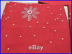 Red Hot Sale Arrival African French Lace Fabric 5Yards ASO OKE Gele 2Pieces/Lot