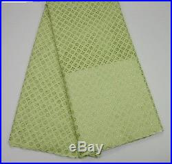 Swiss Voile 100% Cotton Bride Groom Lace Fabric 5 Yds Lot