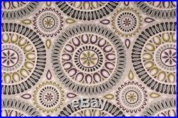 Uptown Fabric Richloom Upholstery Drapery Linen Embark Flagstone Medallion