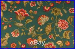Uptown Fabric Richloom Upholstery Drapery Mystery Grotto Green Floral