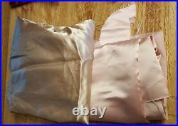 Vintage Satin Velveteen Fabric 2 Yard 1 Yard Lots Most Uncut Gold Pink Blush