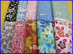 Wholesale Lot Bundle Calico & Floral Cotton Pick 10 Yards New