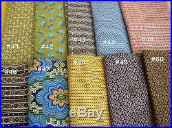 Wholesale Lot Bundle Marcus Quilting shop Cotton 10 Yards