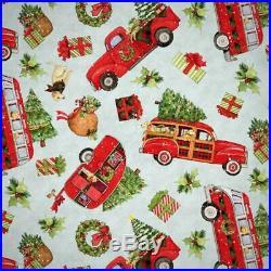 Wholesale Lot Bundle Springs Creative Christmas panels/fabric 10 yards