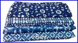 Wholesale-Lots-hand-Block-Print-Indigo-fabric-Bagru-Printed-lot-25-yards-Fabric