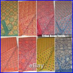 Wholesale Lots hand Block Print Indigo fabric Bagru Printed lot 25 yards Fabric