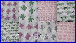 Wholesale lot 40 yards Indian Jaipur handmade natural sanganeri cotton fabric 09