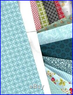 Windy day quilt kit 7 1.8 yards fabrics 61 x 70 lots perfect for little girl